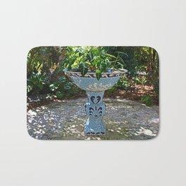 Naples birdbath- horizontal Bath Mat