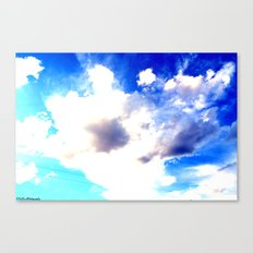 Blue Skies Will Never Fade Canvas Print