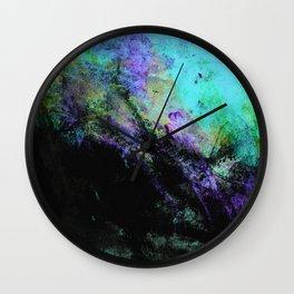 STORMY BLACK Wall Clock