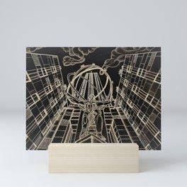 Atlas at Rockefeller Mini Art Print