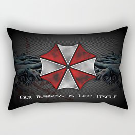 Umbrella Corporation Rectangular Pillow