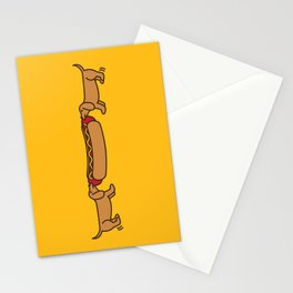 Hot Dog-O-War Stationery Cards