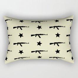 AK-47 Pattern Rectangular Pillow