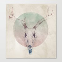 bones Canvas Prints featuring Bones by Kyle Naylor