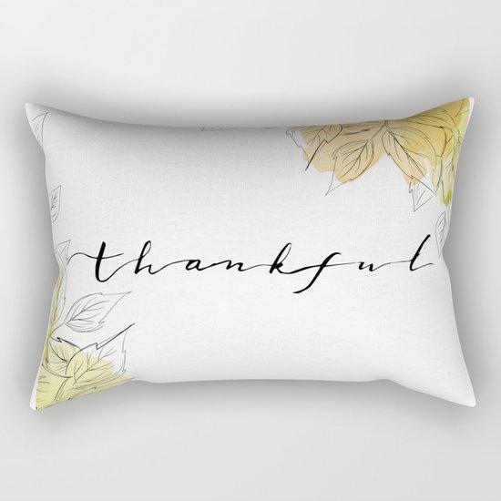 THANKFUL LEAFS Rectangular Pillow