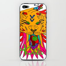 wizard lion iPhone & iPod Skin
