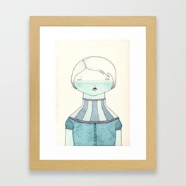 Enough Framed Art Print