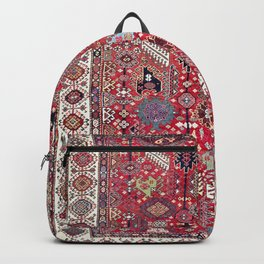 Shekarlu Qashqa'i Fars Southwest Persian Carpet Print Backpack