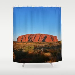Uluru Shower Curtain