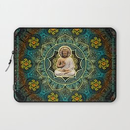 Shakyamuni Buddha - Enlightenment, Peace and Happiness Laptop Sleeve