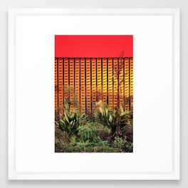 Plants from outer space - Los Angeles #89 Framed Art Print