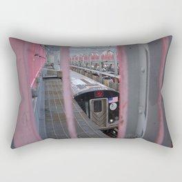 Next Stop Rectangular Pillow