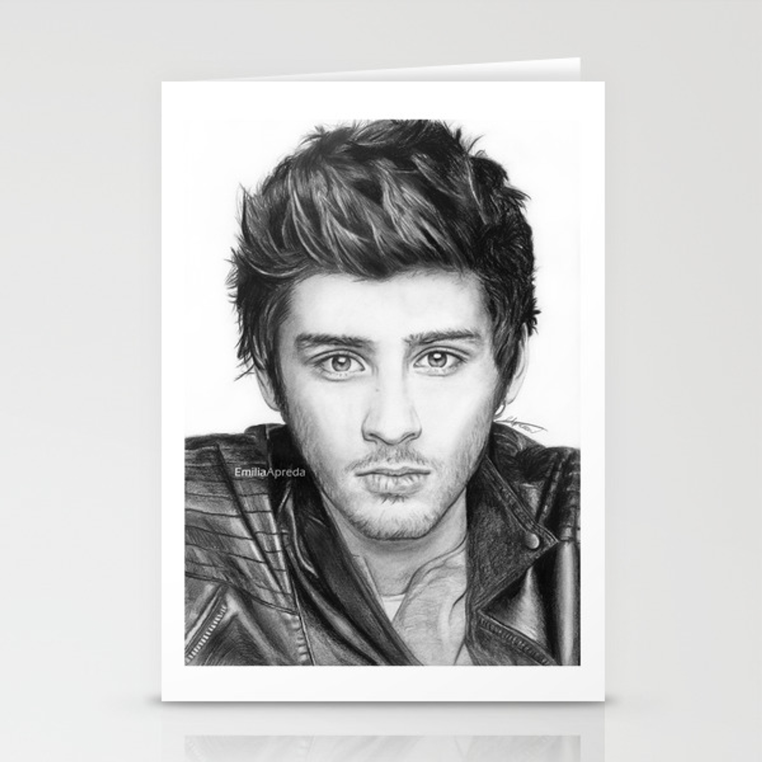 Zayn malik drawing stationery cards