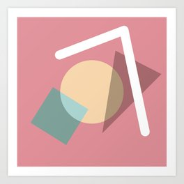 Imperfect Geometries #2 Art Print