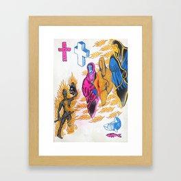 Prophecy of the Burning Limb II Framed Art Print