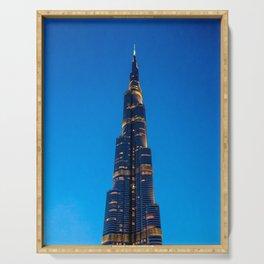 Burj Khalifa Serving Tray