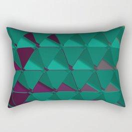3D Futuristic GEO BG VI Rectangular Pillow