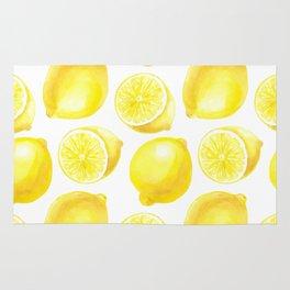 Lemons pattern design Rug
