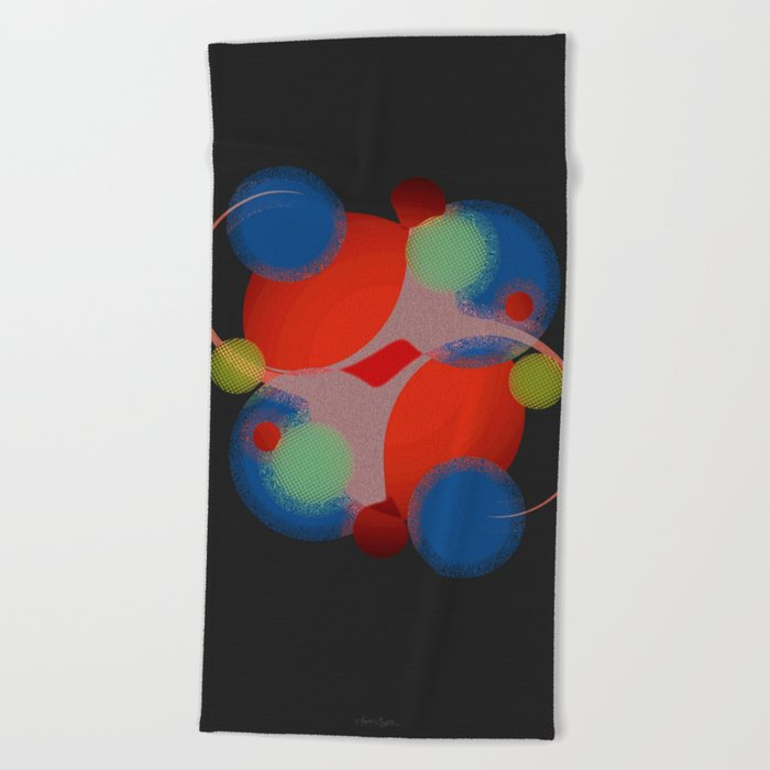 Law of Attraction Beach Towel