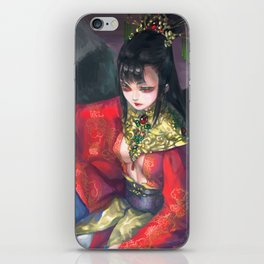 Princess of China iPhone Skin