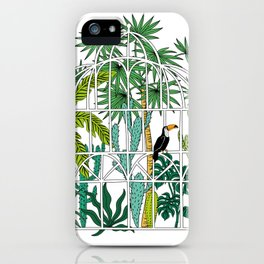 Royal greenhouse iPhone Case