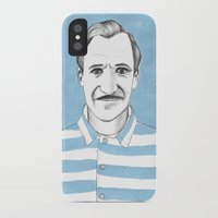 the grand budapest hotel iPhone & iPod Cases featuring Ralph Fiennes. The Grand Budapest Hotel.  by Elena O'Neill