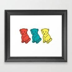 Little Lion Men Framed Art Print