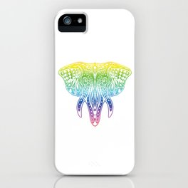 Wildlife Mammal Mammoth Animals Gift Elephant Mandala iPhone Case