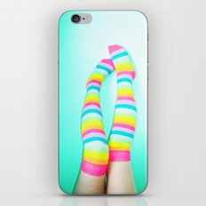 Rainbow Legs iPhone & iPod Skin