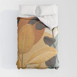 Gold Leaf 01 Comforters