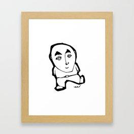 teljesítménykényszer | version Framed Art Print