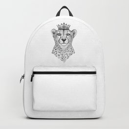 The Queen Cheetah Backpack