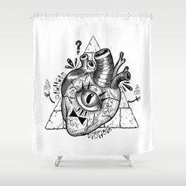 Cypher Shower Curtain