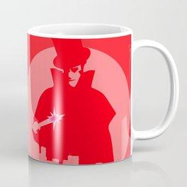 Jack The Ripper Red Background Coffee Mug