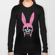 Grey Rabbit/Pink Ears Long Sleeve T-shirt