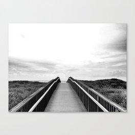 Beach Boardwalk Canvas Print