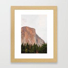 El Capitan Framed Art Print