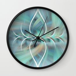 Sigh of Bliss Wall Clock