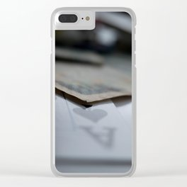 Aces High Clear iPhone Case
