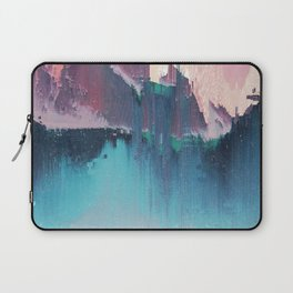Glitched Landscapes Collection #3 Laptop Sleeve