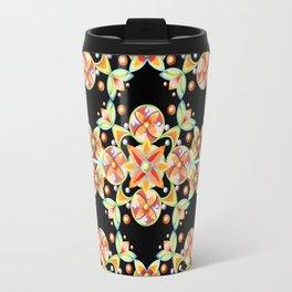 Suzani Stripe Pattern Travel Mug