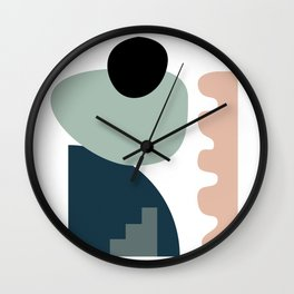 Shape study #18 - Stackable Collection Wall Clock