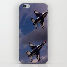 USAF Thunderbirds In Diamond Formation iPhone & iPod Skin