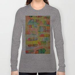 Watercolor Lipstick Long Sleeve T-shirt
