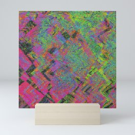 Abstracting Pink Mini Art Print