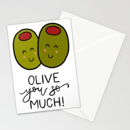 Olive You So Much! Stationery Cards