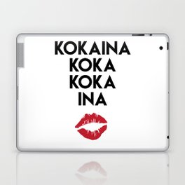 KOKAINA KOKA KOKA INA - Miami Yacine Lyrics Laptop & iPad Skin