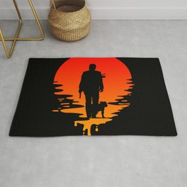 John Wick Sunset Rug
