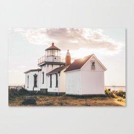 Discovery Park Lighthouse Canvas Print