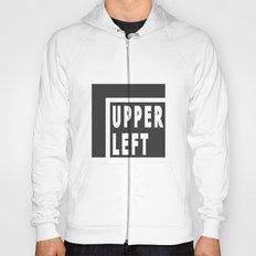 Upperleft Gray Hoody